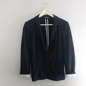 {Express} Black Knit Blazer